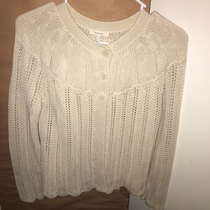 Maternity knit sweater